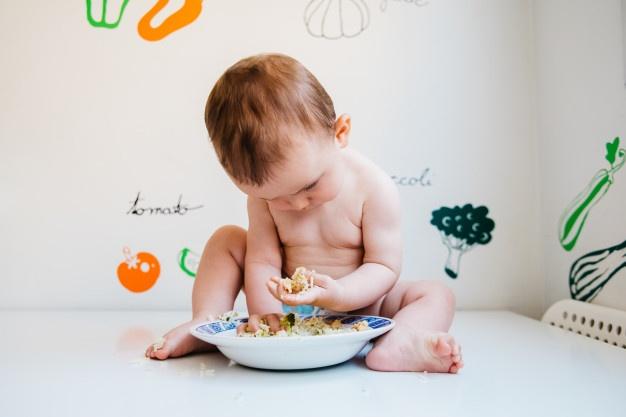 Introduzindo alimentação sólida as crianças